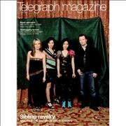 The Corrs Telegraph Magazine - May 2004 UK magazine