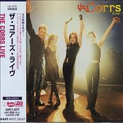 The Corrs The Corrs Live Japan CD album Promo
