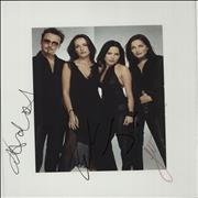 Click here for more info about 'The Corrs - Tour In Blue - Autographed'