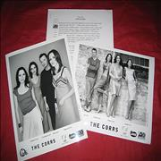 The Corrs Unplugged USA press pack Promo