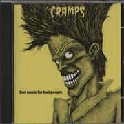Click here for more info about 'The Cramps - Bad Music For Bad People'