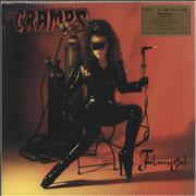 Click here for more info about 'The Cramps - Flamejob - Orange & Yellow Swirl 180 Gram Vinyl'