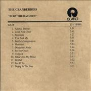 Click here for more info about 'The Cranberries - Bury The Hatchet'