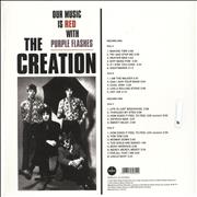 Click here for more info about 'The Creation - Our Music Is Red With Purple Flashes - Red & Purple Vinyl'