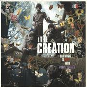 Click here for more info about 'The Creation - Our Music Is Red With Purple Flashes -'