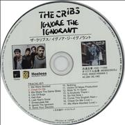 Click here for more info about 'The Cribs - Ignore The Ignorant + Press Release'