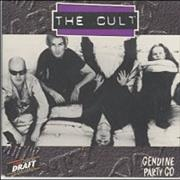 Click here for more info about 'The Cult - Be Free - Genuine Party Cd'