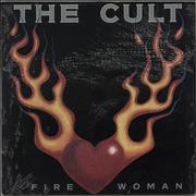 Click here for more info about 'The Cult - Fire Woman EP'
