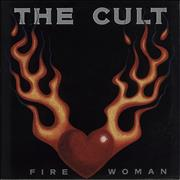 "The Cult Fire Woman UK 12"" vinyl"