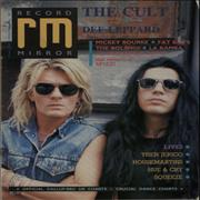 Click here for more info about 'The Cult - Record Mirror'