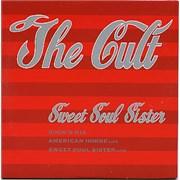The Cult Sweet Soul Sister UK CD single