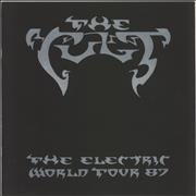 Click here for more info about 'The Cult - The Electric World Tour '87'