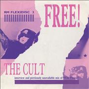 "The Cult Wildflower + Interview - Flexi UK 7"" vinyl Promo"