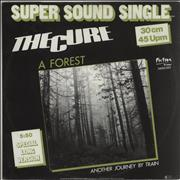 """The Cure A Forest - EX Germany 12"""" vinyl"""