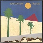 The Cure Boys Don't Cry USA vinyl LP