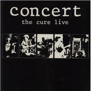 The Cure Concert - The Cure Live - EX UK vinyl LP