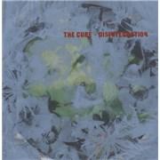 The Cure Disintegration - EX UK picture disc LP