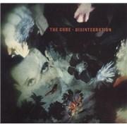 The Cure Disintegration UK vinyl LP
