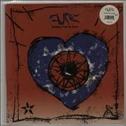 Click here for more info about 'The Cure - Friday I'm In Love - Blue Swirl'