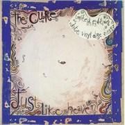 """The Cure Just Like Heaven - White Vinyl UK 7"""" vinyl"""