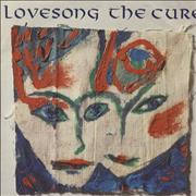 """The Cure Lovesong UK 7"""" vinyl"""