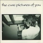 """The Cure Pictures Of You UK 7"""" vinyl"""