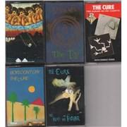 The Cure Quantity Of Five Cassette Albums UK cassette album