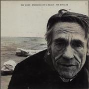The Cure Standing On A Beach - EX UK vinyl LP