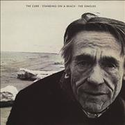 The Cure Standing On A Beach - The Singles UK vinyl LP
