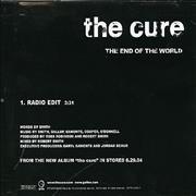 Click here for more info about 'The Cure - The End Of The World'