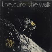 Click here for more info about 'The Cure - The Walk - Promo Stamped'