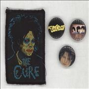 Click here for more info about 'The Cure - Three Badges & Sew On Patch'