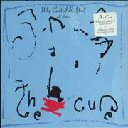 """The Cure Why Can't I Be You? - Stickered Shrink USA 12"""" vinyl"""