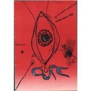 The Cure Wish Tour '92 - EX UK tour programme