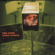 Click here for more info about 'The Cure - Wrong Number - 2-trk'