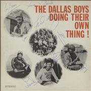 Click here for more info about 'The Dallas Boys - Doing Their Own Thing! - Fully Autographed'