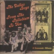 Click here for more info about 'The Dallas Boys - From The Palladium To You - Autographed'