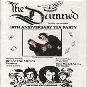 Click here for more info about 'The Damned - 10th Anniversary Tea Party'