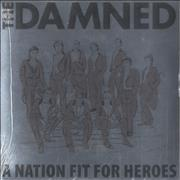 Click here for more info about 'The Damned - A Nation Fit For Heroes - Blue Vinyl - Sealed'