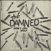 Click here for more info about 'The Damned - Don't Cry Wolf - Yellow Vinyl - EX'