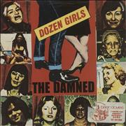 Click here for more info about 'The Damned - Dozen Girls - P/S - EX'