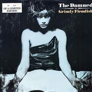 Click here for more info about 'The Damned - Grimly Fiendish - White Vinyl'