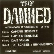 Click here for more info about 'The Damned - Interview - double pack'
