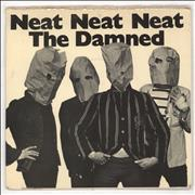 Click here for more info about 'The Damned - Neat Neat Neat - 1st + Sleeve - VG'