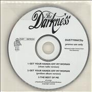 Click here for more info about 'The Darkness - Get Your Hands Off My Woman'