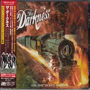 Click here for more info about 'The Darkness - One Way Ticket To Hell And Back + HMV Sticker'