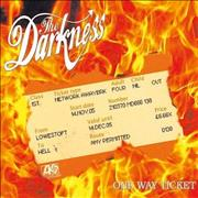 Click here for more info about 'The Darkness - One Way Ticket'