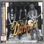 Click here for more info about 'The Darkness - Permission To Land + DVD & Obi'