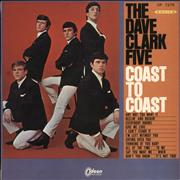 Click here for more info about 'The Dave Clark Five - Coast To Coast - Red Vinyl'