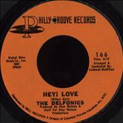 Click here for more info about 'The Delfonics - Hey! Love'